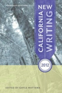 New California Writing 2012 cover