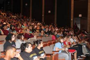 Third Street was read in front of hundreds of high schoolers at the Texas UIL Conference in Fall 2013