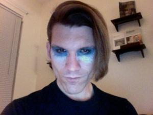 Brian in makeup