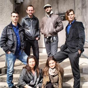 From left: Abe Koogler, Katie Bender, David Turkel, Reina Hardy, Bill Anderson, Briandaniel Oglesby